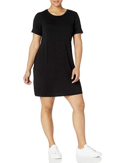 Daily Ritual Women's Plus Size Jersey Dress