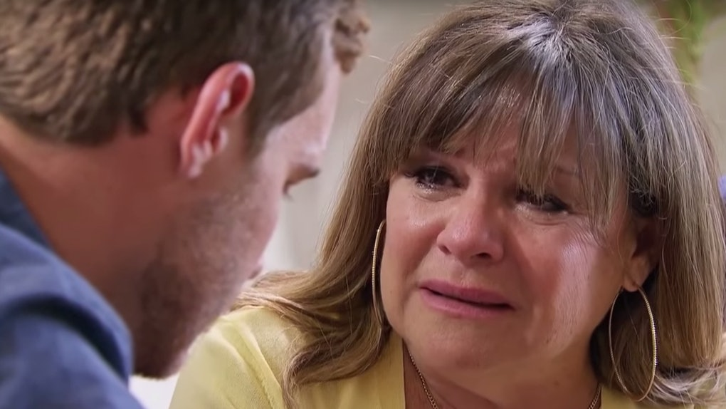Peter's mom cried on 'The Bachelor'