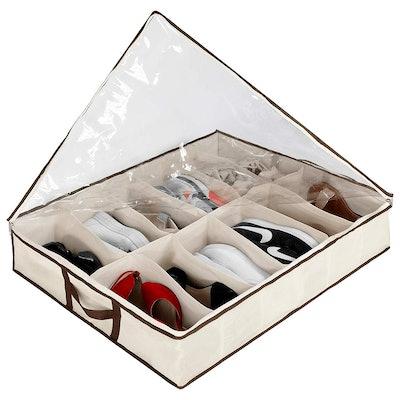 Ziz Home Under Bed Shoe Organizers (2-Pack)