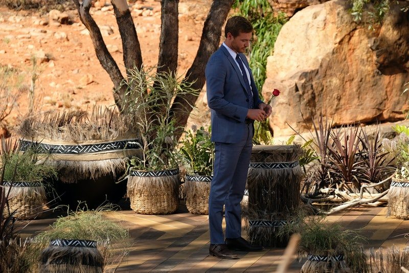 Peter's final rose ceremony on 'The Bachelor.'