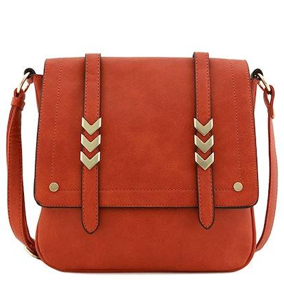 ALYSSA Double Compartment Crossbody Bag
