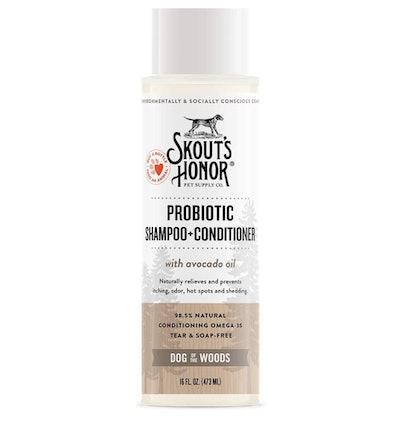 SKOUT'S HONOR Probiotic Pet Shampoo & Conditioner