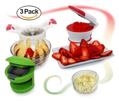 Kitchen Krush Slicer & Dicer (3-Pack Bundle)