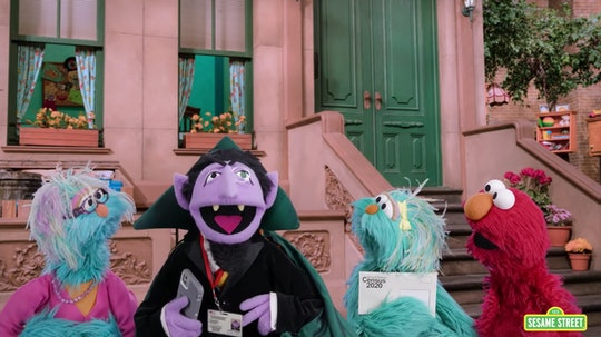 """Count from """"Sesame Street"""" is encouraging parents of young kids to make sure they're counted in the 2020 census."""