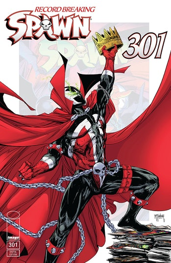 Cover of 'Spawn' #301.