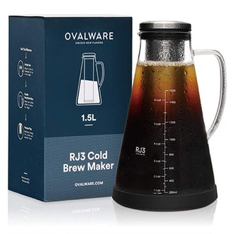 Ovalware Airtight Cold Brew Iced Coffee Maker