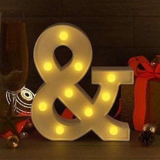 YouZone  LED Letter Lights
