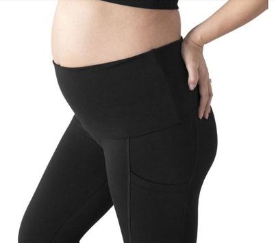 Martina Maternity & Postpartum Support Crop Pocket Leggings