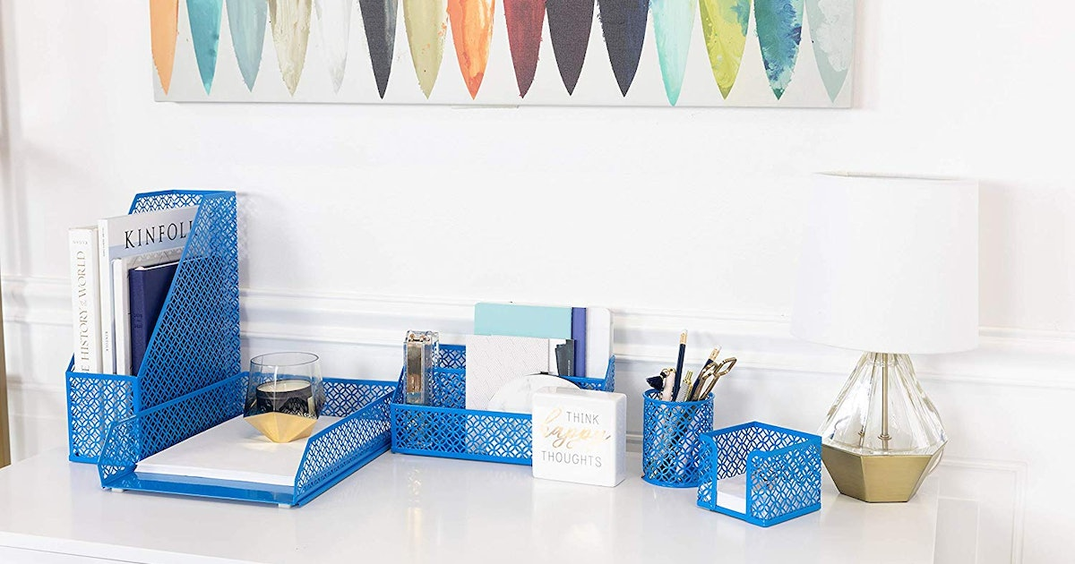 The Best Way To Declutter Your Workspace? Get One Of These Desk Organizers ASAP
