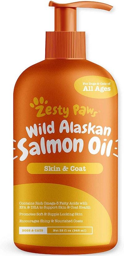 Zesty Paws Pure Wild Alaskan Salmon Oil