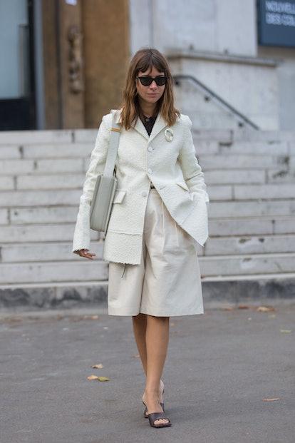 Natasha Goldenberg Leather Culottes