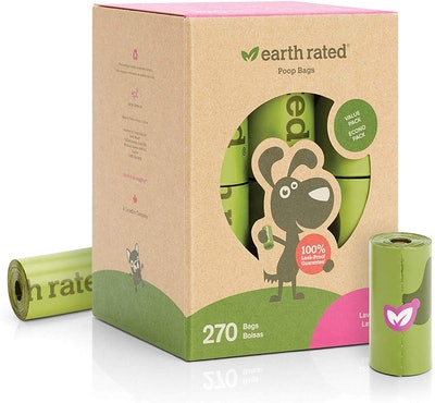 Earth Rated Dog Poop Bags (15-Pack)