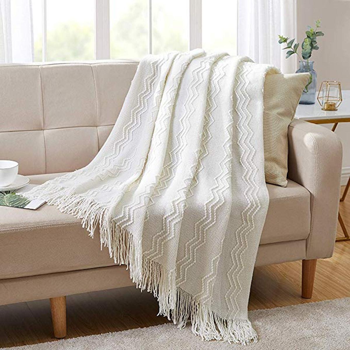 Bourina Throw Blanket