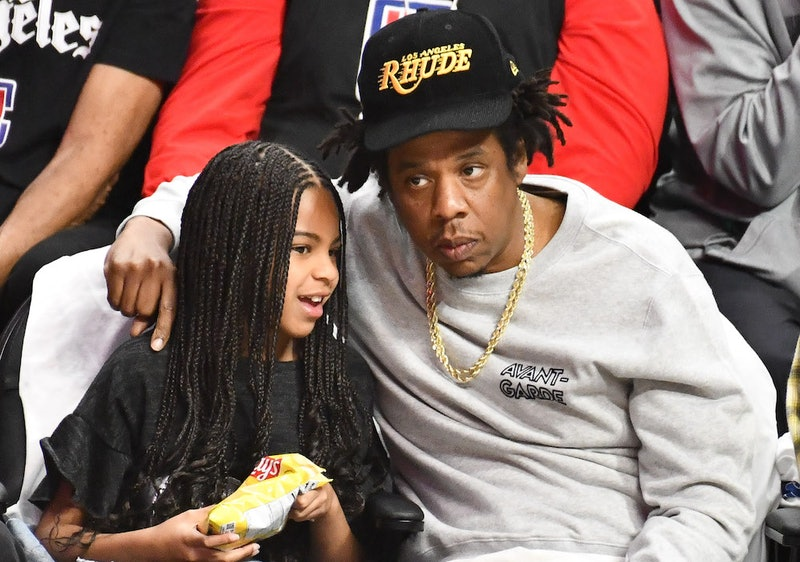 Blue Ivy Carter Met LeBron James At A Basketball Game & Got Starstruck