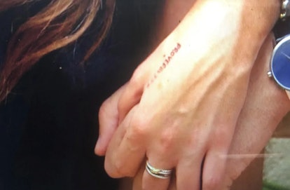The word written on Madison's hand during The Bachelor finale ties to her faith.