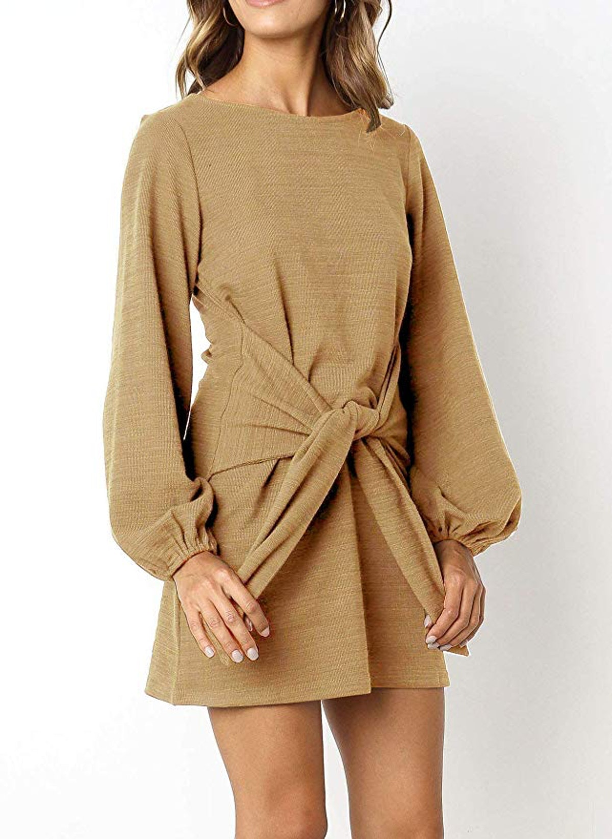 R.Vivimos Women's Autumn Sweater Pencil Dress