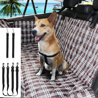 WJLING Pet Back Seat Cover Protector