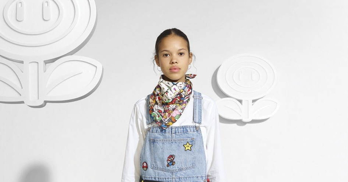 Levi's is partnering with Nintendo for a Mario collection