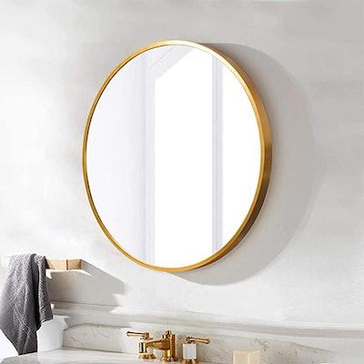 Self Round Wall Mirror