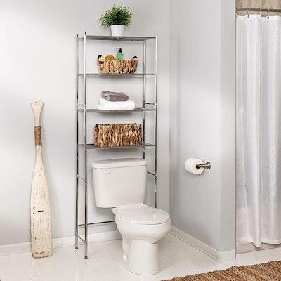 Honey-Can 4-Tier Metal Bathroom Shelf