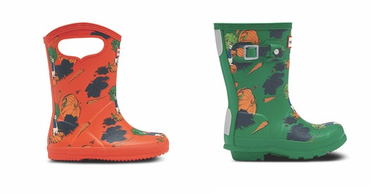 The Hunter x Peter Rabbit collection of boots come in several different styles.