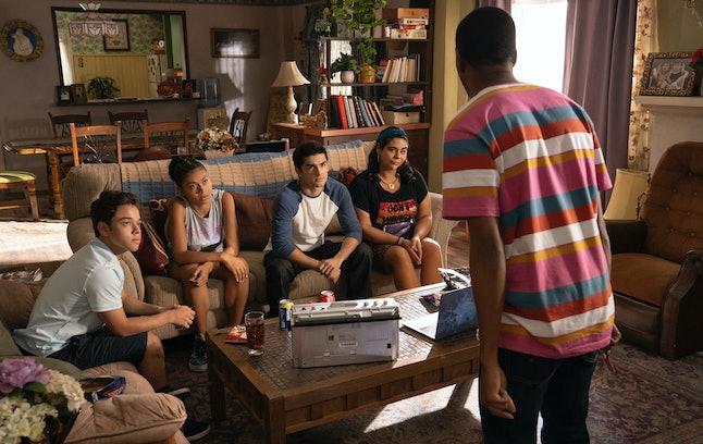 Ruby, Monse, Cesar, Jasmine, and Jamal in 'On My Block'