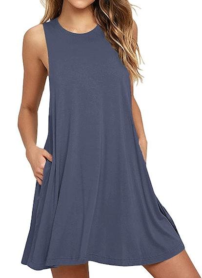 WEACZZY Womens Summer T Shirt Dress