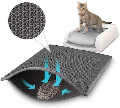Waretary Professional Cat Litter Mat