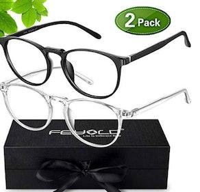 FEIYOLD Blue Light Blocking Glasses (2-pack)