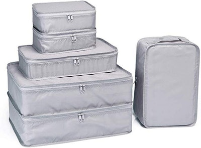 JJ POWER Packing Cubes With Shoe Bag