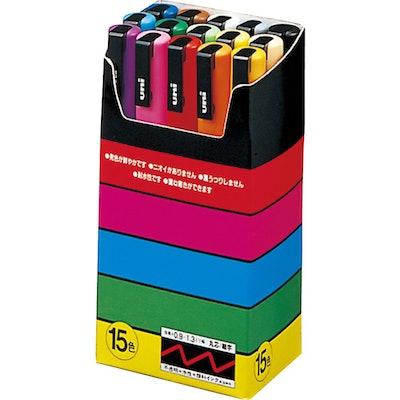 Uni Posca Paint Pens (15-Pack)