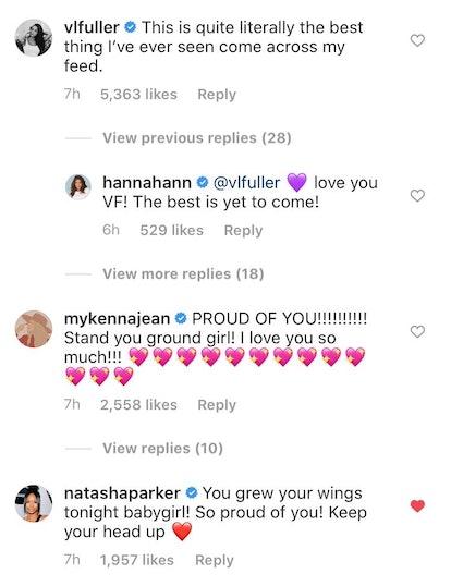 Hannah Ann Instagram 'Bachelor' comments