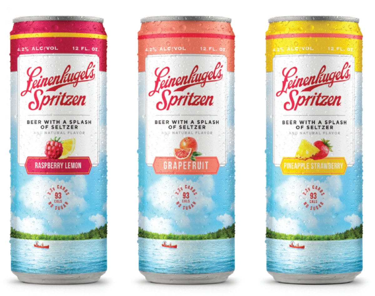 Leinenkugel's new Spritzen cans are a mix of beer and seltzer, so get ready to sip.