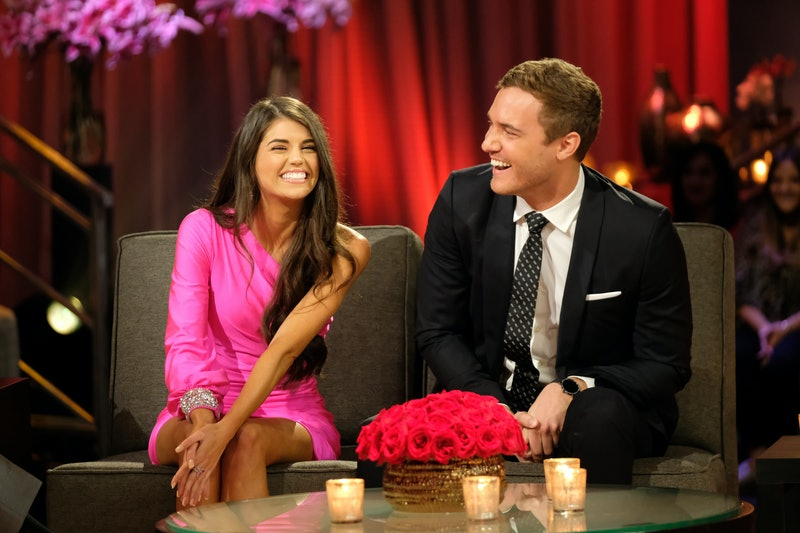 """""""The Bachelor: Season Finale Part 2"""" – Peter and Madison discuss where they left off in the hot seat during the second night of the live special, season finale event of """"The Bachelor,"""""""