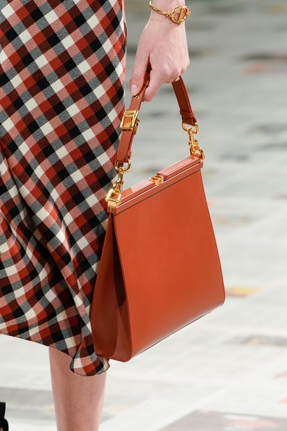 Christian Dior fall 2020 handbag trend.
