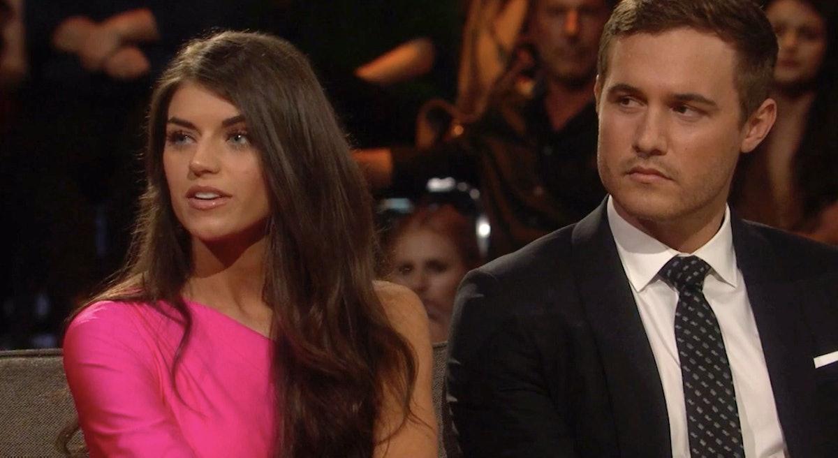 Peter and Madison on 'The Bachelor'