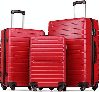 Merax Flieks 3-Piece Luggage Set (22-, 26-, And 30-Inch)