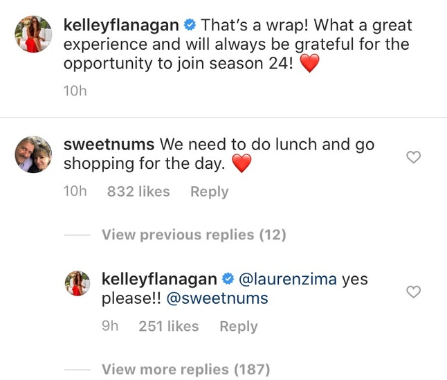 Peter's mom reached out to Kelley Flanagan after The Bachelor.