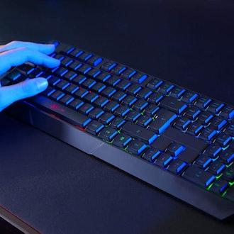 KLIM Chroma Rechargeable Wireless Gaming Keyboard
