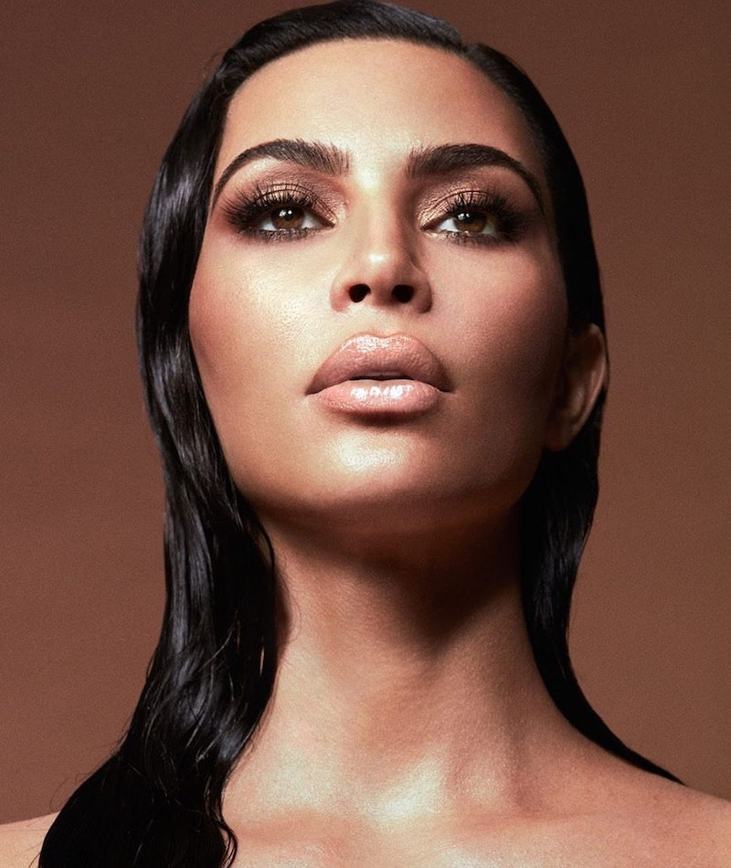 Kim Kardashian poses in a promotional photo for KKW Beauty's New Classic II Collection launching Mar...