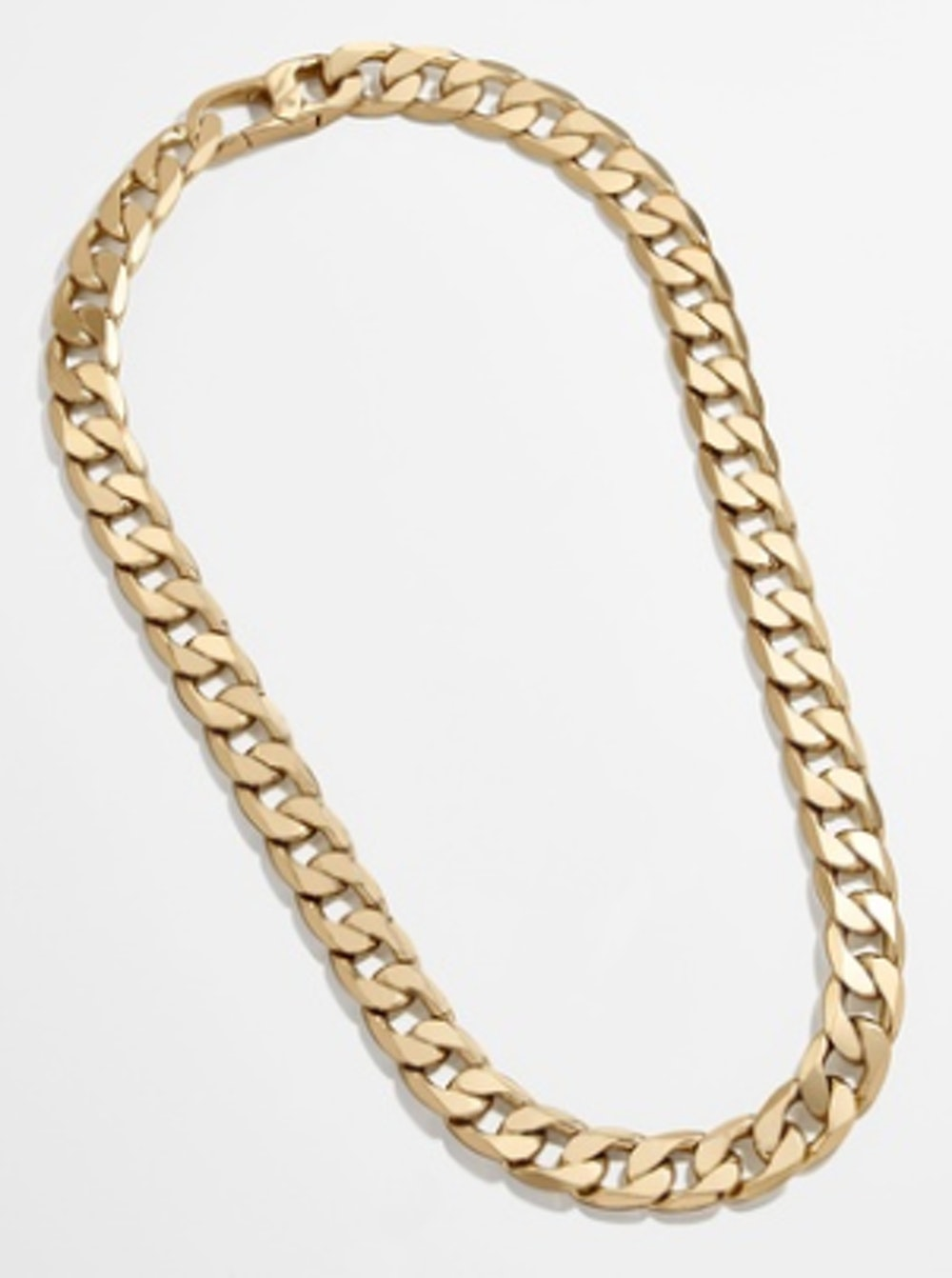 Large Michel Curb Chain Necklace