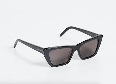 Narrow Cat Eye Sunglasses