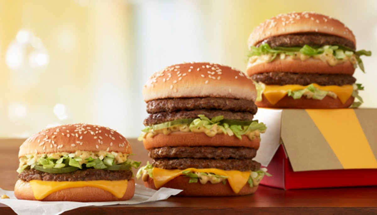 h McDonald's is selling Double Big Macs & Little Macs for those who want a spin on the original.