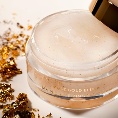 Farsali's moisturizer is an extension of the rose gold line.