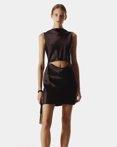 Yas Mini Silk Dress