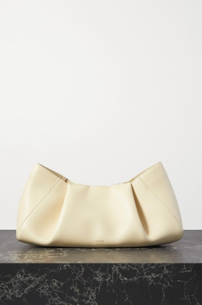 Jeanne small leather clutch