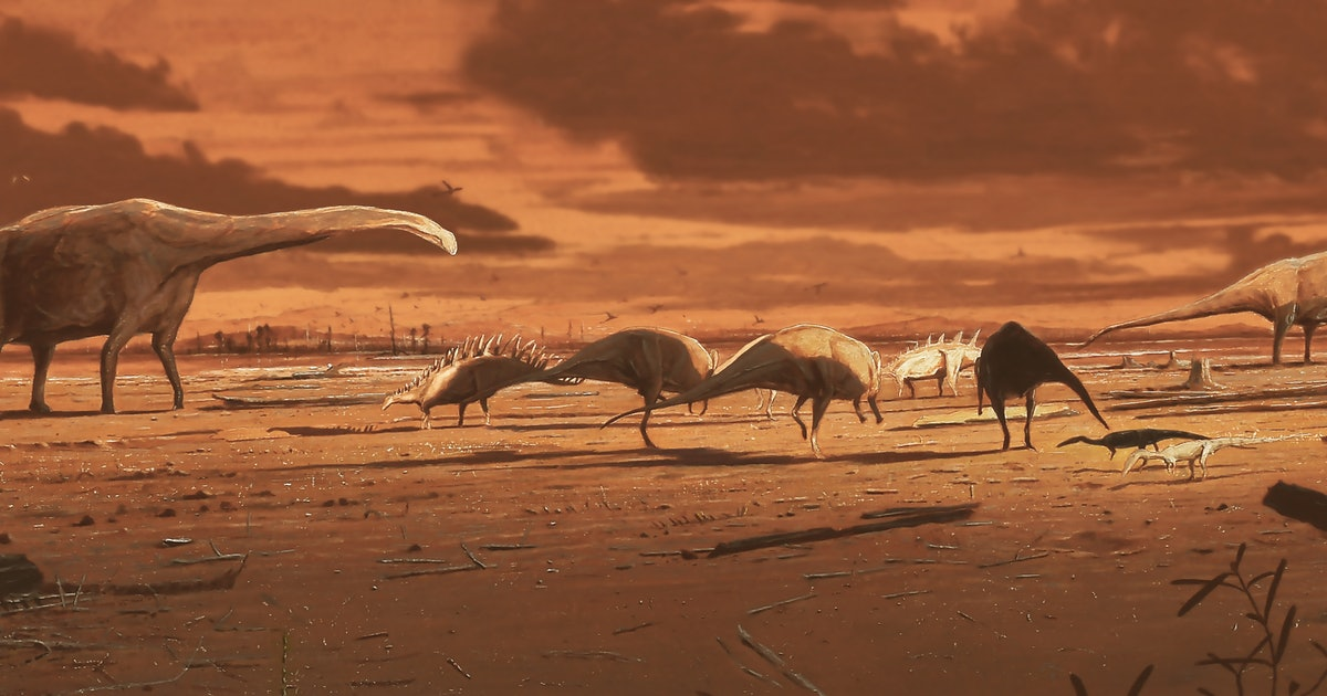 """Paleontologists have unearthed a """"real Jurassic Park"""" in Scotland"""