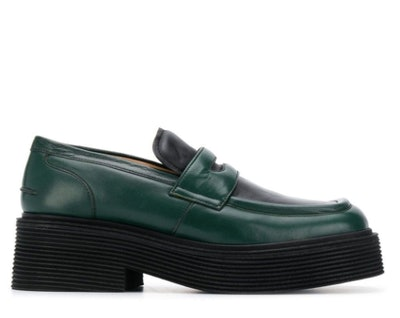 Thick sole loafers