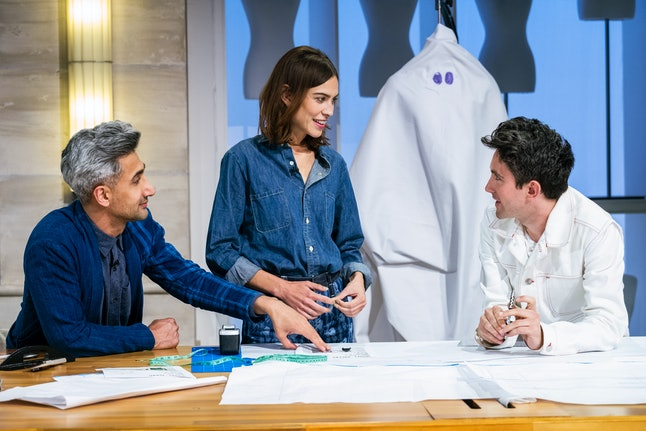 Tan France and Alexa Chung on Next In Fashion