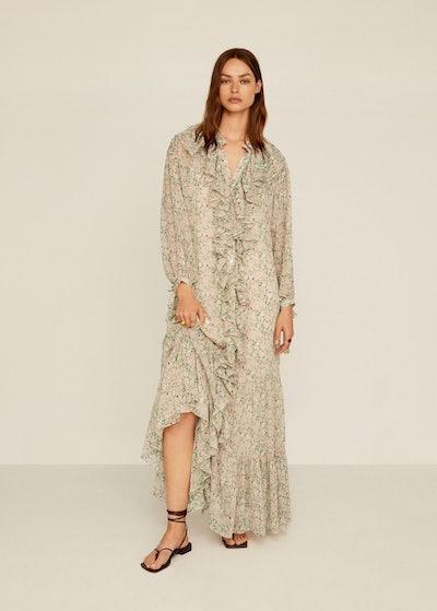 Floral Ruffled Dress
